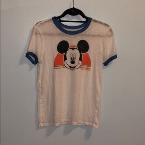 Disney Mickey Mouse Ringer Tee